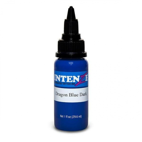 Intenze Ink/ Dragon Blue Dark / kék Tetováló Tinta 30ml