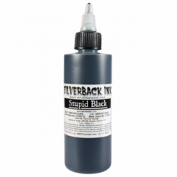 Silverback Ink Stupid Black Fekete 120ml