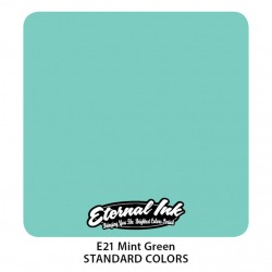 ETERNAL INK - Mint GREEN TETOVÁLÓ TINTA...