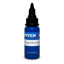 Intenze Ink/ Dragon Blue Dark / kék Teto...